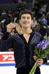 Book Patrick Chan for your next corporate event, function, or private party.