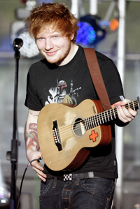 Book Ed Sheeran for your next corporate event, function, or private party.