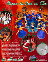 Book Ice Follies - Cirque Du Noel for your next corporate event, function, or private party.