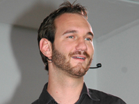 Book Nick Vujicic for your next corporate event, function, or private party.