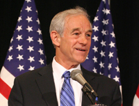 Book Ron Paul for your next corporate event, function, or private party.
