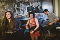 Book Kitty, Daisy & Lewis for your next corporate event, function, or private party.