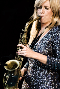 Book Candy Dulfer for your next corporate event, function, or private party.