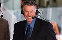 Book Barry Melrose for your next corporate event, function, or private party.