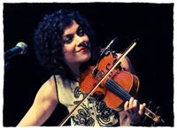 Book Carrie Rodriguez for your next corporate event, function, or private party.