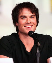 Book Ian Somerhalder for your next corporate event, function, or private party.