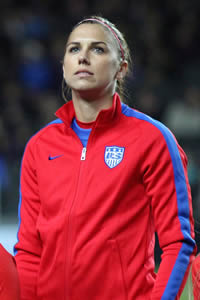 Book Alex Morgan for your next corporate event, function, or private party.