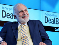 Book Carl Icahn for your next corporate event, function, or private party.
