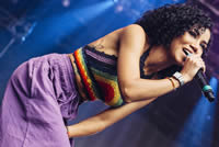 Book Jhene Aiko for your next corporate event, function, or private party.