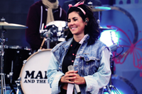 Book Marina and The Diamonds for your next corporate event, function, or private party.