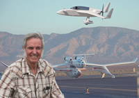 Book Burt Rutan for your next corporate event, function, or private party.