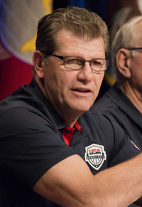 Book Geno Auriemma for your next corporate event, function, or private party.