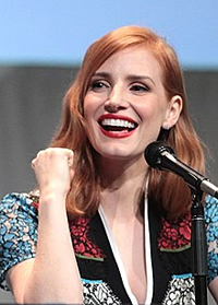 Book Jessica Chastain for your next corporate event, function, or private party.