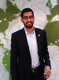 Book Sundar Pichai for your next corporate event, function, or private party.