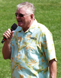 Book Ken The Hawk Harrelson for your next corporate event, function, or private party.