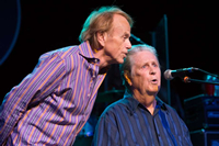 Book Brian Wilson featuring Al Jardine for your next corporate event, function, or private party.