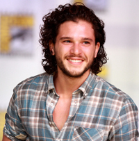 Book Kit Harington for your next corporate event, function, or private party.