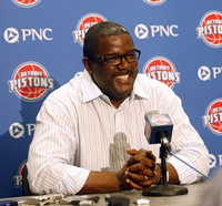 Book Joe Dumars for your next corporate event, function, or private party.