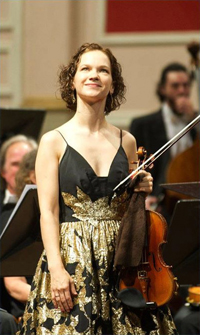 Book Hilary Hahn for your next corporate event, function, or private party.