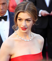 Book Anne Hathaway for your next corporate event, function, or private party.