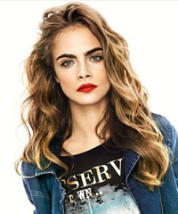 Book Cara Delevingne for your next corporate event, function, or private party.