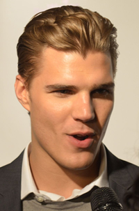 Book Chris Zylka for your next corporate event, function, or private party.