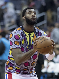 Book Andre Drummond for your next corporate event, function, or private party.