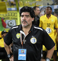 Book Diego Maradona for your next corporate event, function, or private party.
