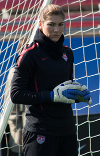 Book Hope Solo for your next corporate event, function, or private party.