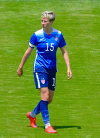 Book Megan Rapinoe for your next corporate event, function, or private party.