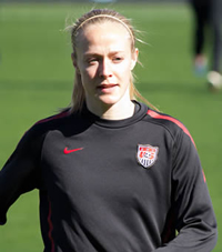 Book Becky Sauerbrunn for your next corporate event, function, or private party.