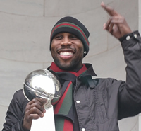 Book Anquan Boldin for your next corporate event, function, or private party.