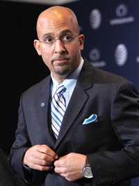 Book James Franklin for your next corporate event, function, or private party.