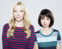 Book Garfunkel and Oates for your next corporate event, function, or private party.