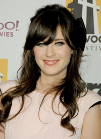 Book Zooey Deschanel for your next corporate event, function, or private party.