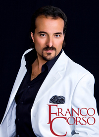 Book Franco Corso for your next corporate event, function, or private party.