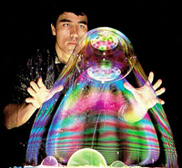 Book Gazillion Bubble Show for your next corporate event, function, or private party.