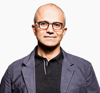 Book Satya Nadella for your next corporate event, function, or private party.