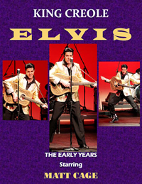 Book Elvis Presley - King Creole Tribute for your next corporate event, function, or private party.