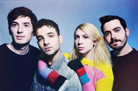 Book Charly Bliss for your next corporate event, function, or private party.