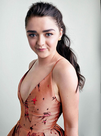 Book Maisie Williams for your next corporate event, function, or private party.
