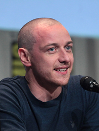 Book James McAvoy for your next corporate event, function, or private party.