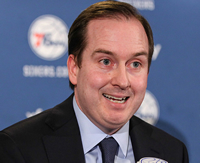 Book Sam Hinkie for your next corporate event, function, or private party.