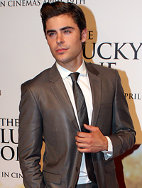 Book Zac Efron for your next corporate event, function, or private party.