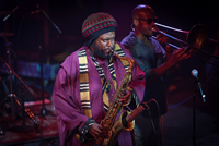 Book Kamasi Washington for your next corporate event, function, or private party.