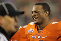 Book Deshaun Watson for your next corporate event, function, or private party.