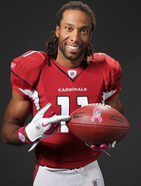 Book Larry Fitzgerald for your next corporate event, function, or private party.