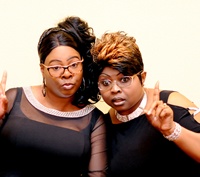 Book Diamond And Silk for your next corporate event, function, or private party.