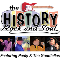 Book History of Rock & Soul for your next corporate event, function, or private party.