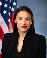 Book Alexandria Ocasio-Cortez for your next corporate event, function, or private party.